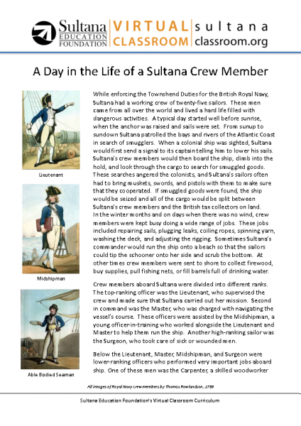 A Day in the Life of a Sultana Crew Member