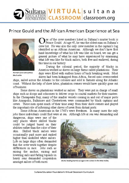 African American Experience at Sea