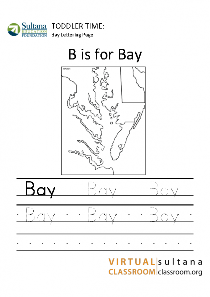 Bay Lettering Page