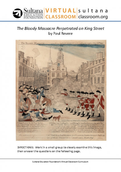 Boston Massacre Text