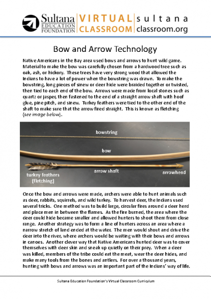 Bows and Arrows Text