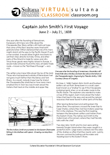 John Smith_s First Voyage Text