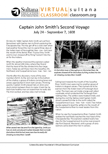 John Smith_s Second Voyage Text