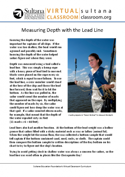 Lead Line Text