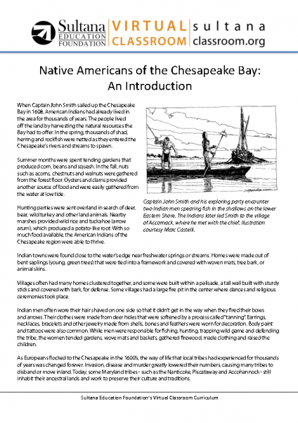 Native Americans Text