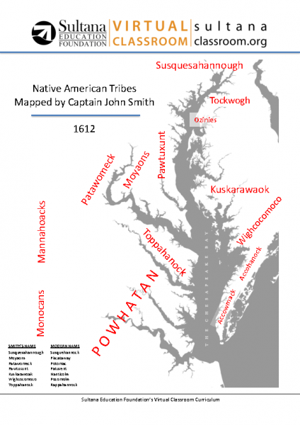 Native Americans in 1608