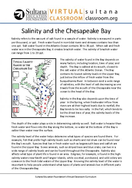 Salinity Text