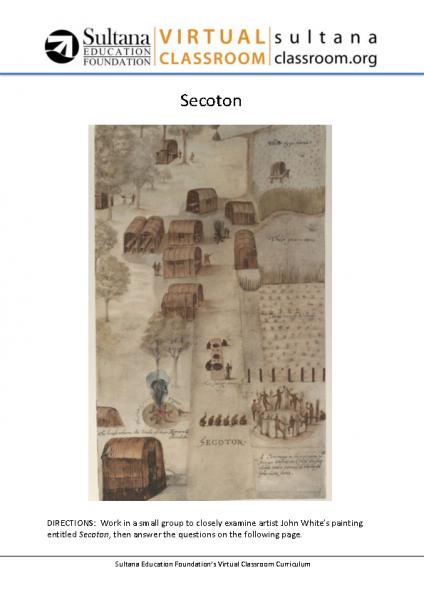 Secoton Text