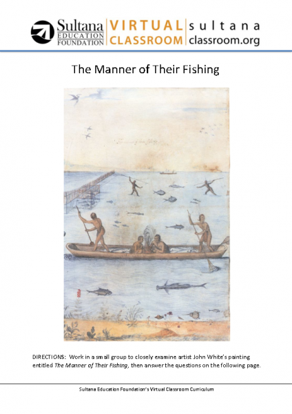 The Manner of Their Fishing Text