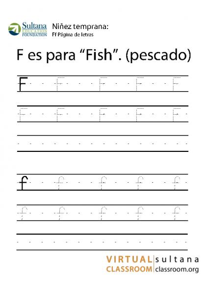 Ff Página de letras
