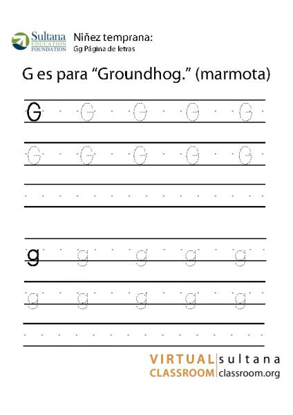Gg Página de letras