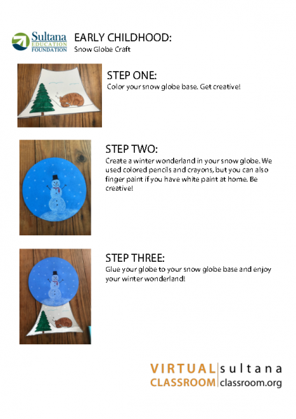Snow Globe Craft Instructions