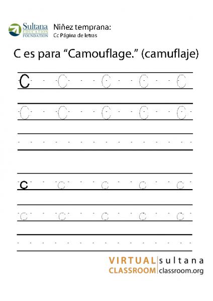 Cc Página de letras