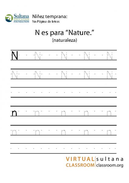 Nn Página de letras